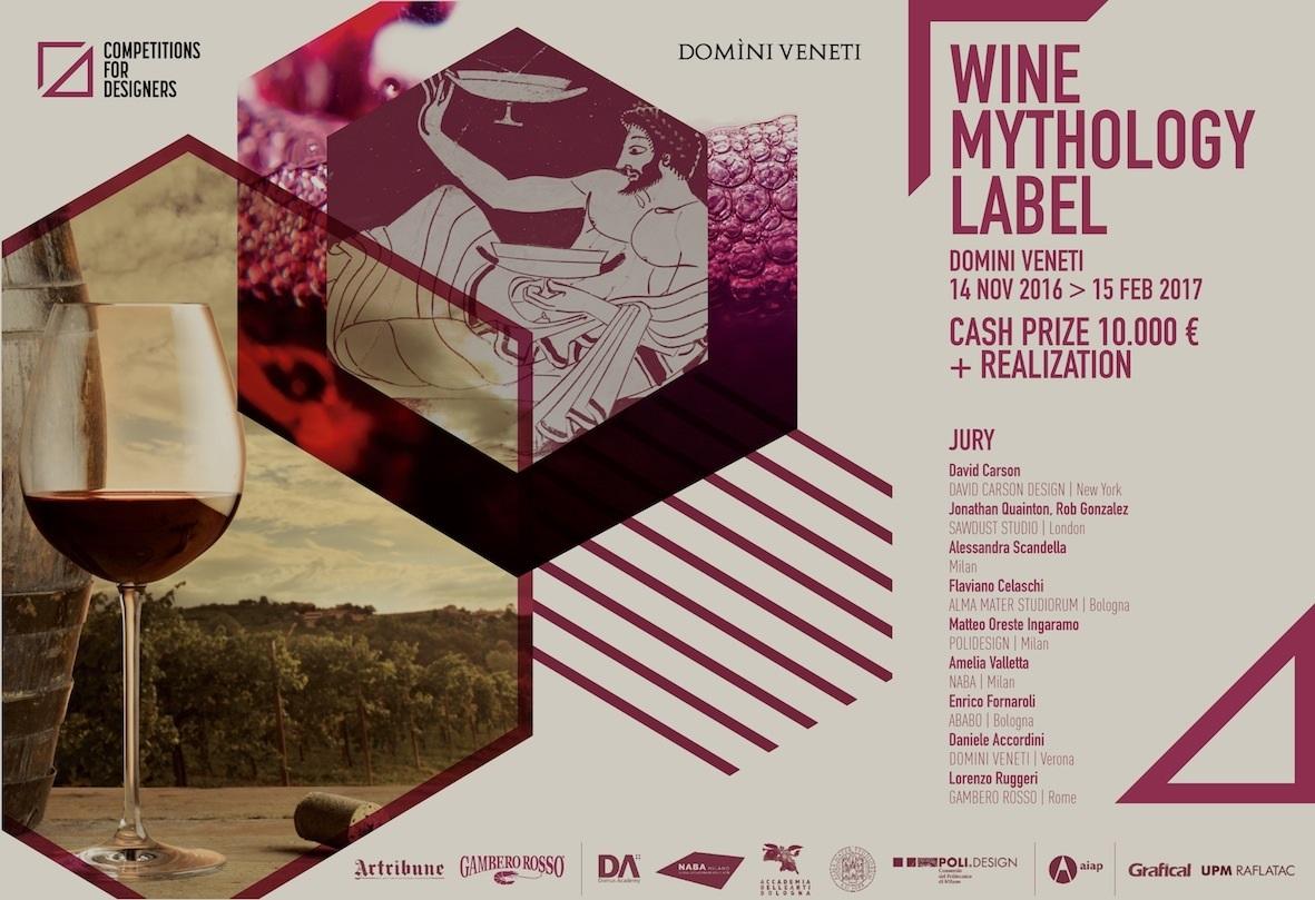 La mitologia del vino in un'etichetta