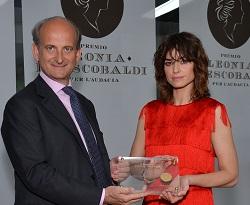 A Kasia Smutniak il Premio Leonia per l'Audacia 2017