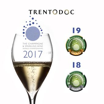 Trentodoc trionfa al The champagne & sparkling wine wolrd championships