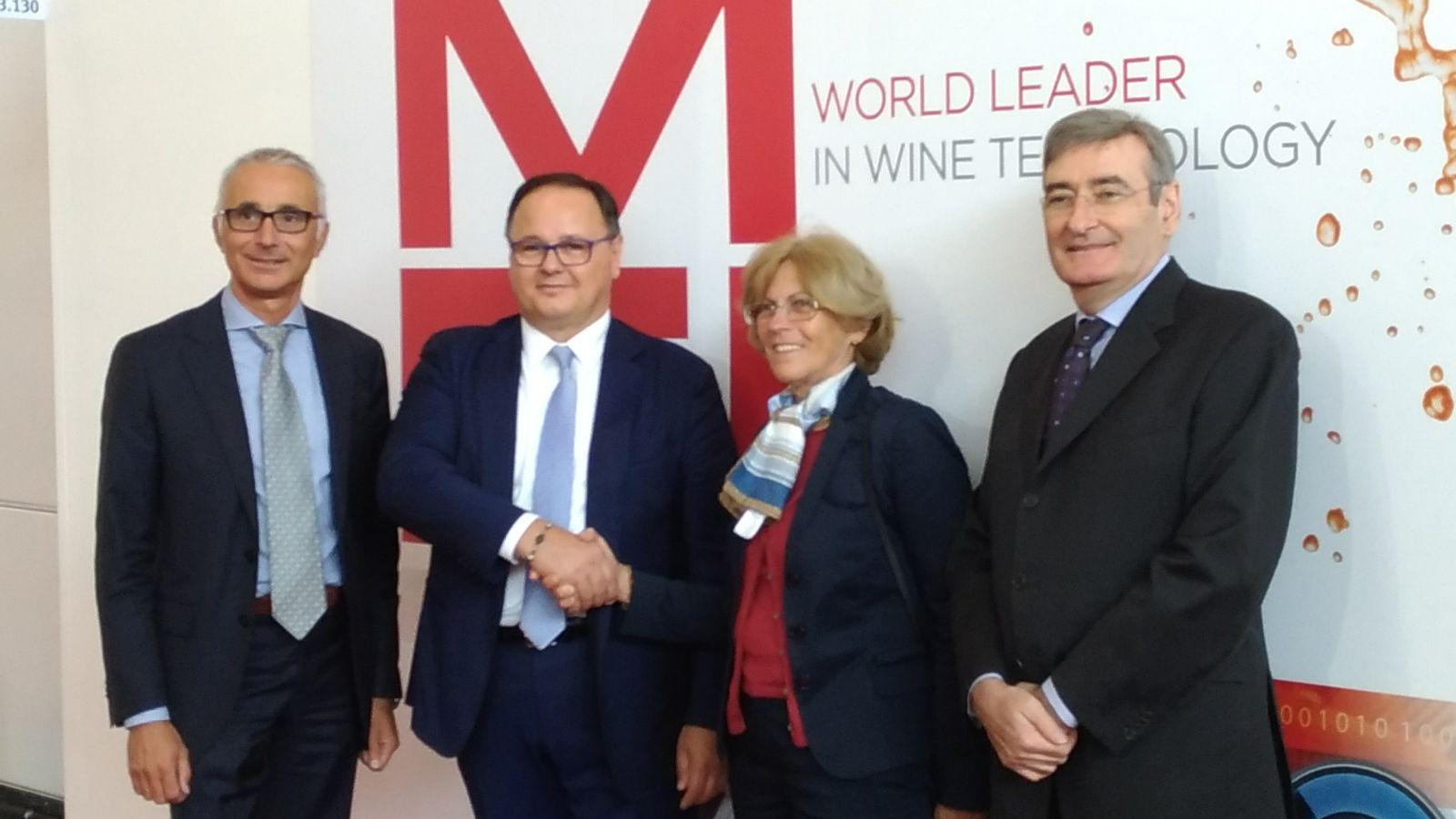 Simei, UIV sigla intese con delegazioni Cina e Sudamerica